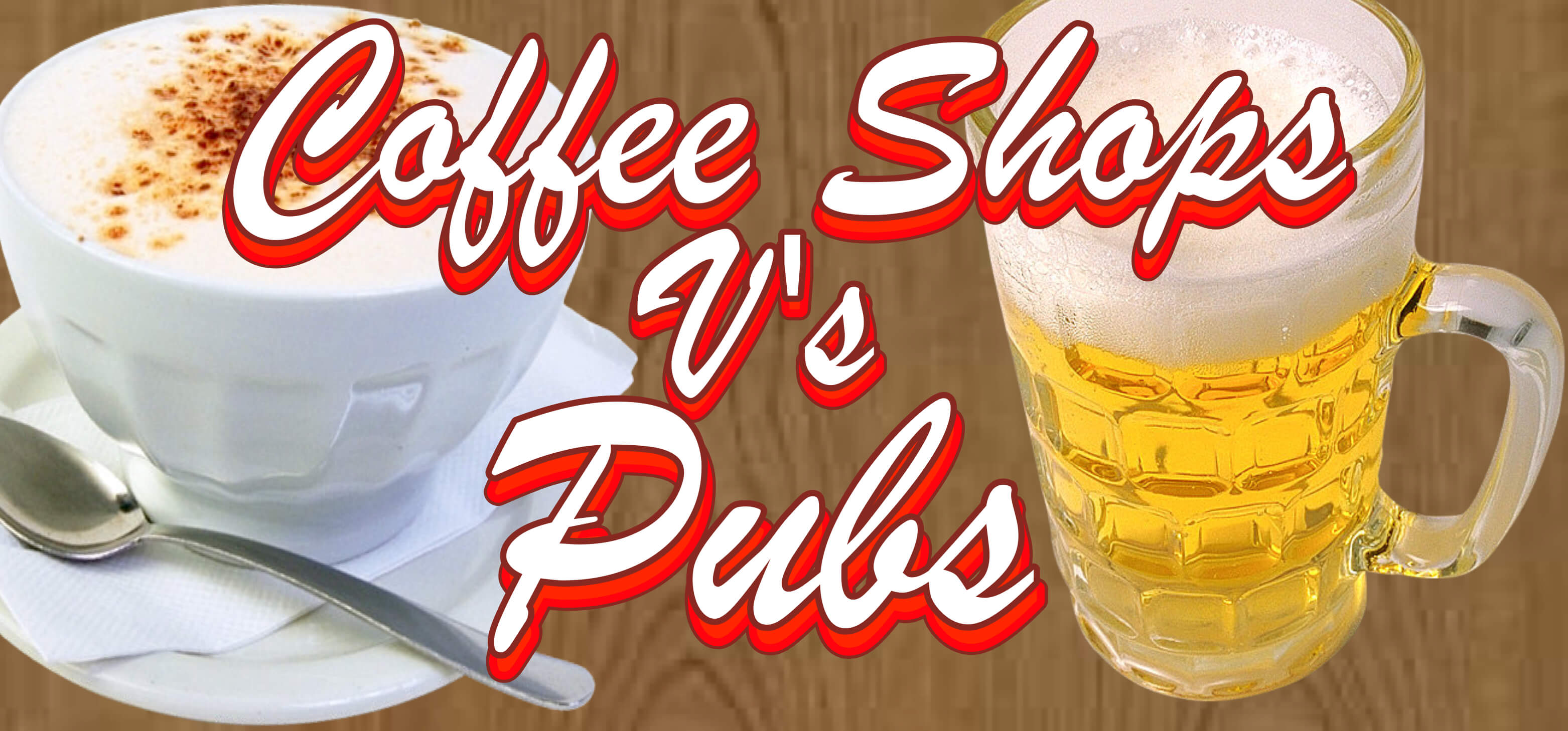 Coffee v Pub, what can we learn
