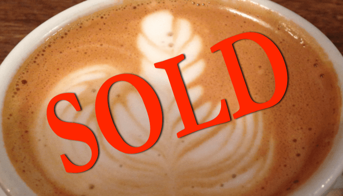 Selling your coffee shop