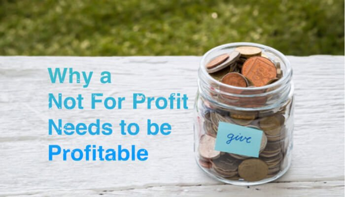 Why Not for Profit needs to be Profitable