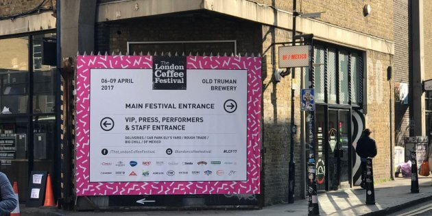 London coffee festival 2017