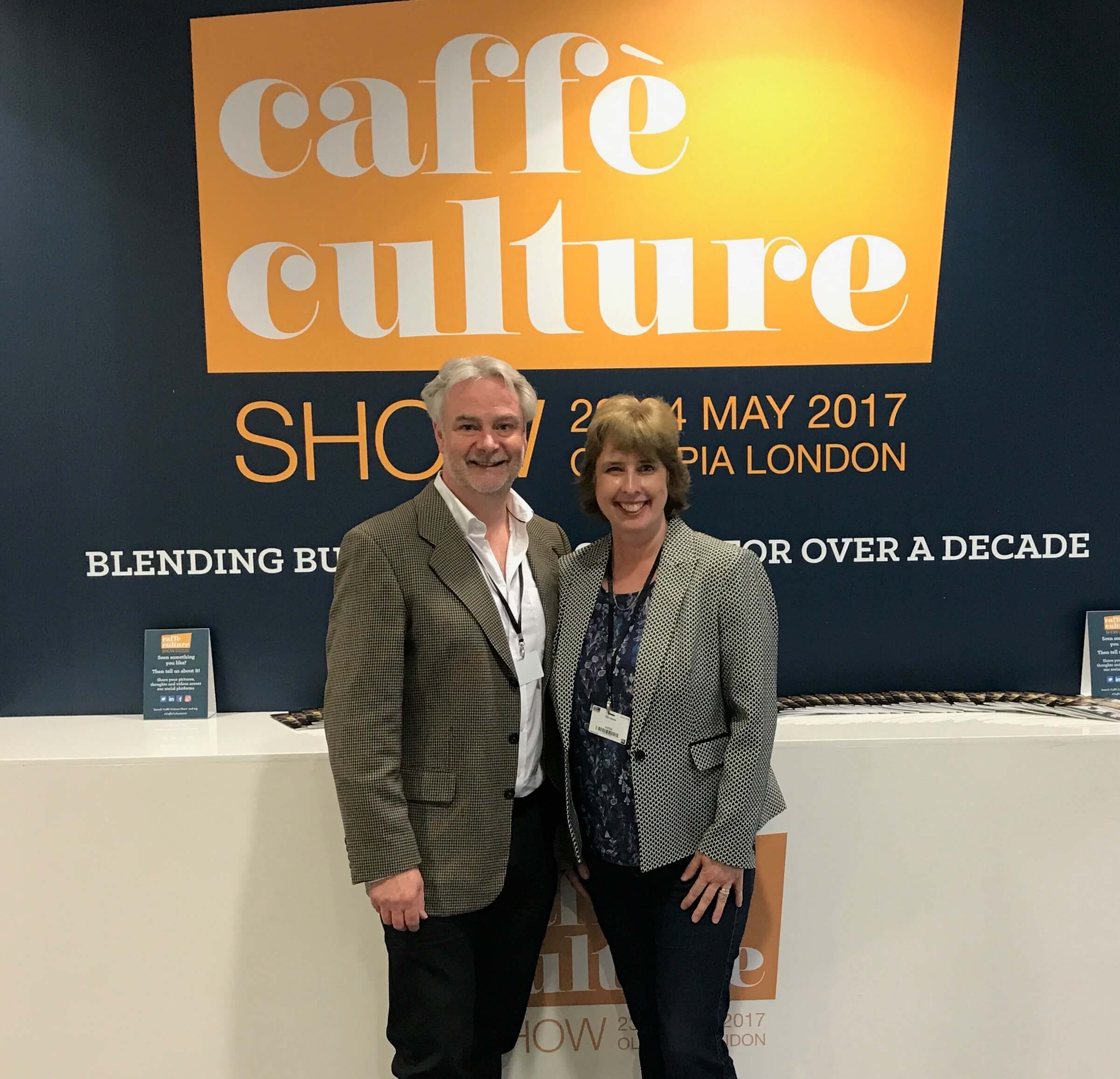 Andrew Bowen, Claire Bowen, Coffeepreneurs, speakers