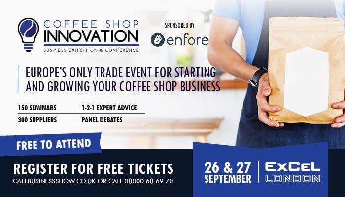 REGISTRATION FOR COFFEE SHOP INNOVATION EXPO 2017 IS NOW OPEN!