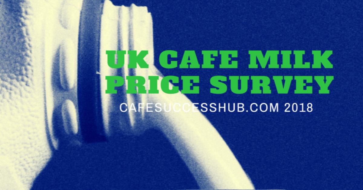 UK Cafe Milk Price Survey 2018 Results