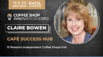 Claire Bowen Coffee Shop Expo Keynote