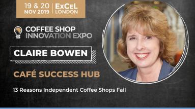Claire Bowen Coffee Shop Expo Keynote