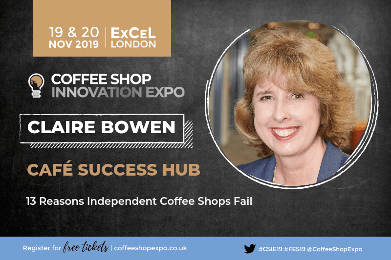 Meet us at Coffee Shop Innovation Expo 2019
