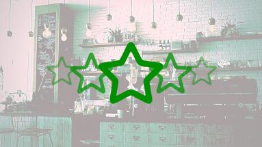 michelin green stars coffee shop, cafe