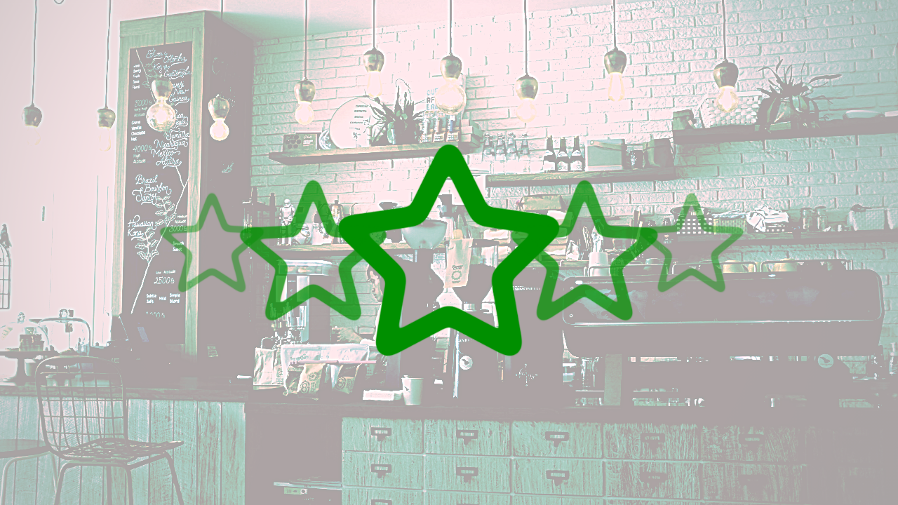 News – Starbucks and Michelin Green Stars